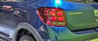 Рено Сандеро Степвей 2018 модельного года в новом кузове