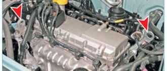 Снятие двигателя K7J или К7М Рено Логан Сандеро (Renault Sandero Logan): пошаговая инструкция