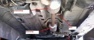 Замена глушителей Рено Логан Сандеро (Renault Sandero Logan): пошаговая инструкция
