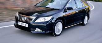 Основные преимущества автомобиля Тойота Камри с пробегом