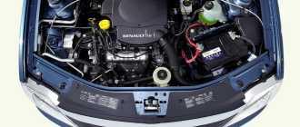 Двигатель Рено Логан – 1.4 или 1.6 и какой двигатель лучше 8 или 16 клапанный