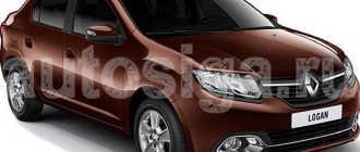 Система электронной противоугонной блокировки запуска двигателя Рено Логан Сандеро (Renault Sandero Logan): устройство