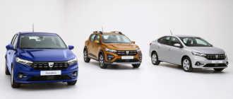 Renault Logan MCV предлагается в комплектации Ambiance Prime